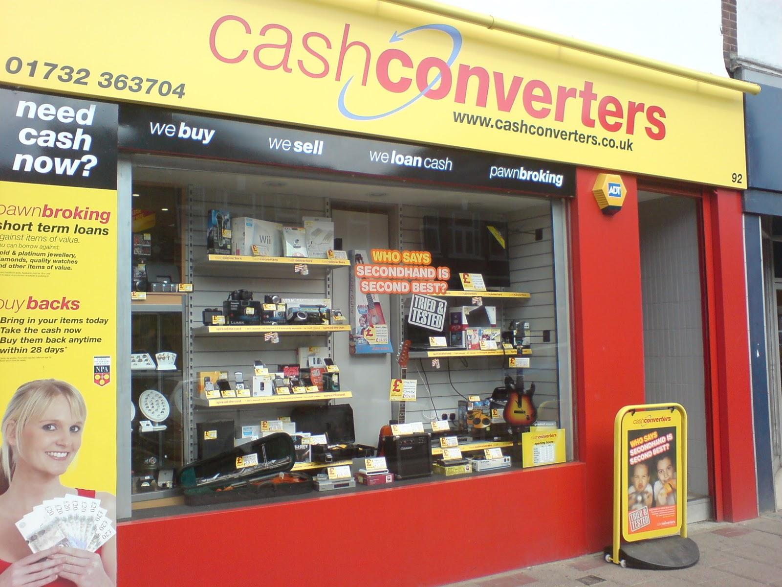Des corners Western Union chez Cash Converters  The