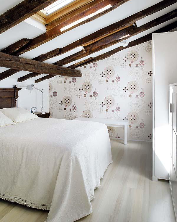 Papel De Parede Para Quarto De Casal ~ quarto+de+casal+com+papel+de+parede+e+madeira+de+demolicao+loft22 8g
