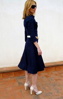 foto parte lateral entero vestido Isabel de Pedro