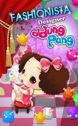Screenshots of the Fashionista Designer Ddung Pang for Android tablet, phone.