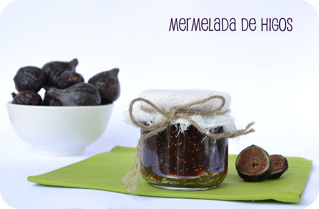 receta de mermelada de higos con Thermomix