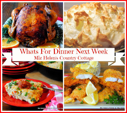 Whats For Dinner Next Week 2-26-17 to 3-04-17