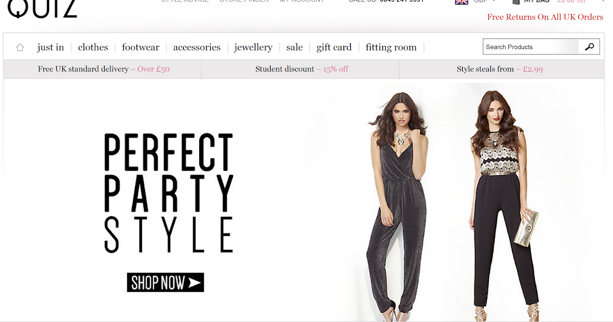 The Budget Beauty Blog Is Featured On Quiz Clothing 39 S Style Blog The Budget Beauty Blog