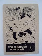 Minha publicação sobre Textos da Tradição Oral na Alfabetização.