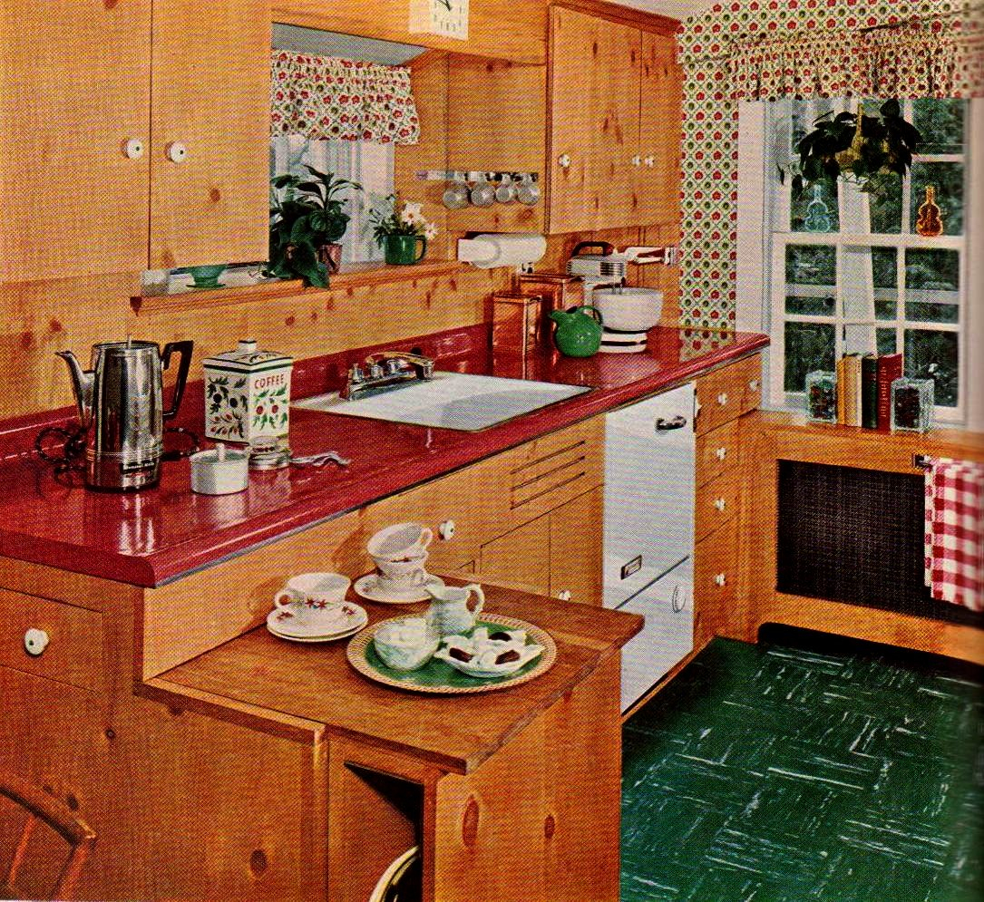 Knotty Pine Kitchen Cabinets: Montana Roué: Some Things Should Stay In The Past