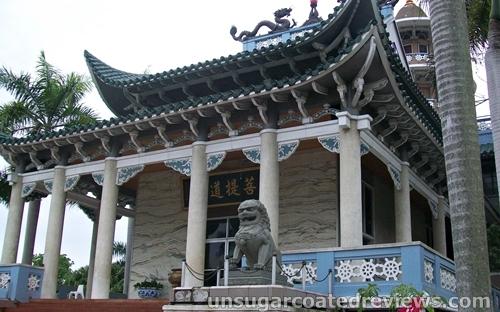 Lon Wa Buddhist Temple in Davao City, Philippines