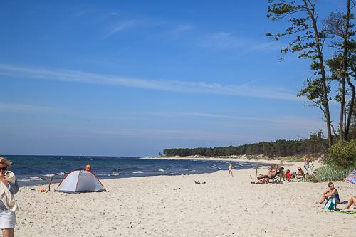 Amalie loves Denmark - Ferienurlaub auf Bornholm, Balka Strand