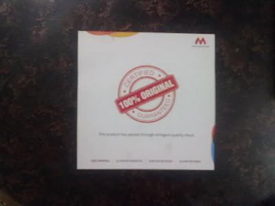 Myntra.com Tag logo myntra cardsheet