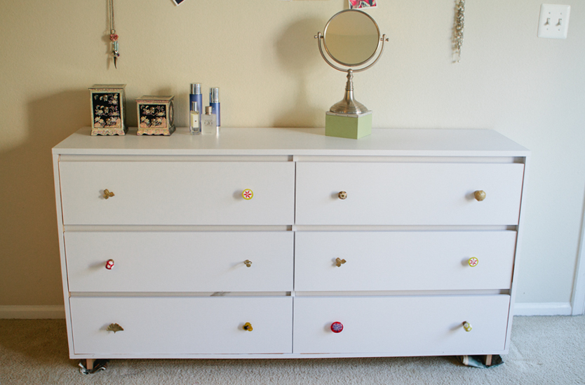 Our Rainy Weekend Project The Ikea Malm Dresser Hack