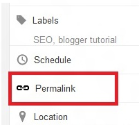 Comments Permalink Blogger