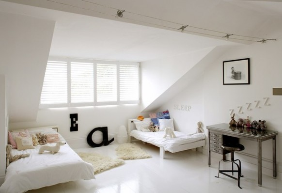 decoracao de interiores sotaos:Attic Bedroom Design Ideas