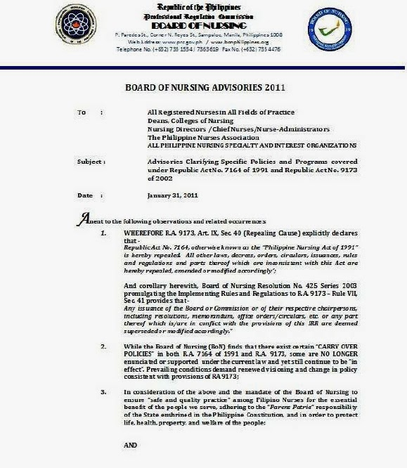 ra 9173 philippine nursing law Transcript of important revisions to the philippine nursing act of proposed amendments for the philippine nursing act of 2002 (ra 9173) nursing law and.