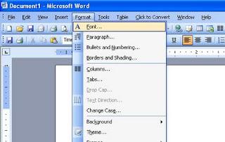 format-menu