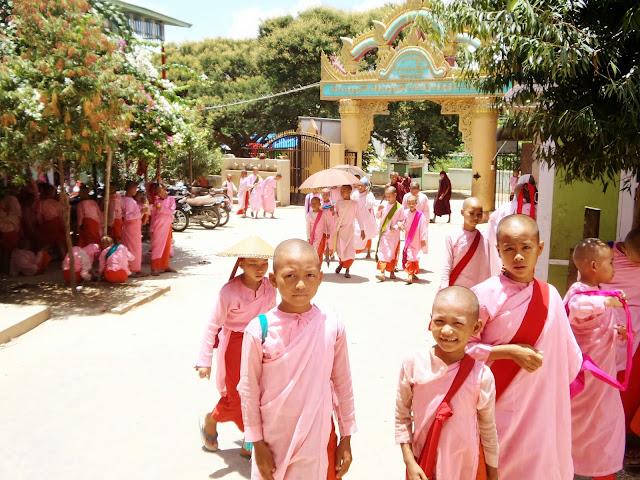 Avventure nel Mondo - Dolce Burma - scuola monastero Aung Myay Oo