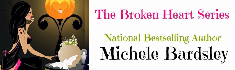 The Broken Heart Vampire Series by National Bestselling Author Michele Bardsley
