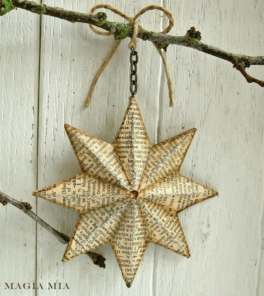 Magia mia twinkle twinkle ephemera star - Decoracion vintage reciclado ...