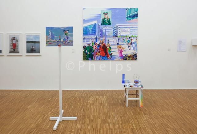 Ausstellung Sense and Sensibility - Salzburg Kunstverein - Foto Andrew Phelps