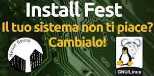 """Ogni sabato """"GNU/Linux Install Fest"""""""
