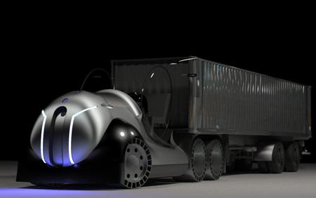 Atropos An Aeorodynamic Converting Hybrid Semi Truck