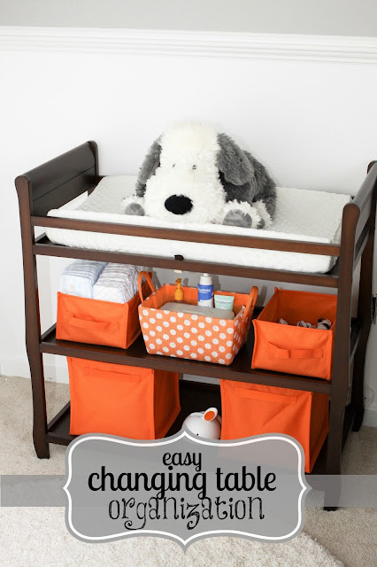iu0027ve had these awesome collapsible orange storage crates from land of nod sitting on our changing table for months without any idea as to how to use them