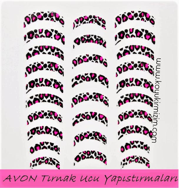 Avon Nail Art Tırnak Yapıştırmaları