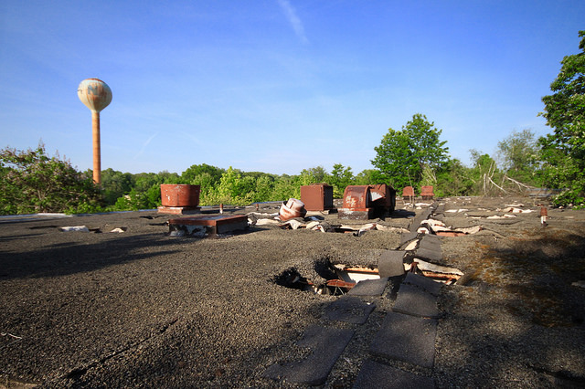 Windsor Water Tower Demolition : The forgotten past of new jersey nl industries national