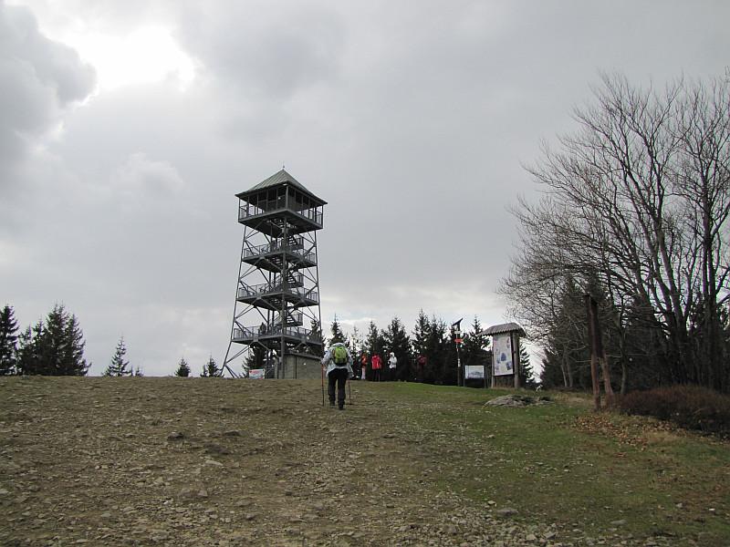 Wielka Czantoria (czes. Velká Čantoryje, niem. Großer Czantory-Berg, 995 m n.p.m.).