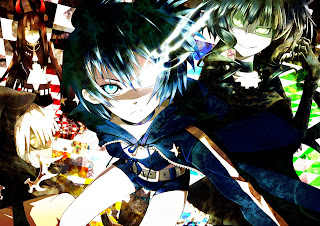 Black Rock Shooter Dead Master Strength Black Gold Saw Girls Anime HD Wallapper Desktop PC Background 1716
