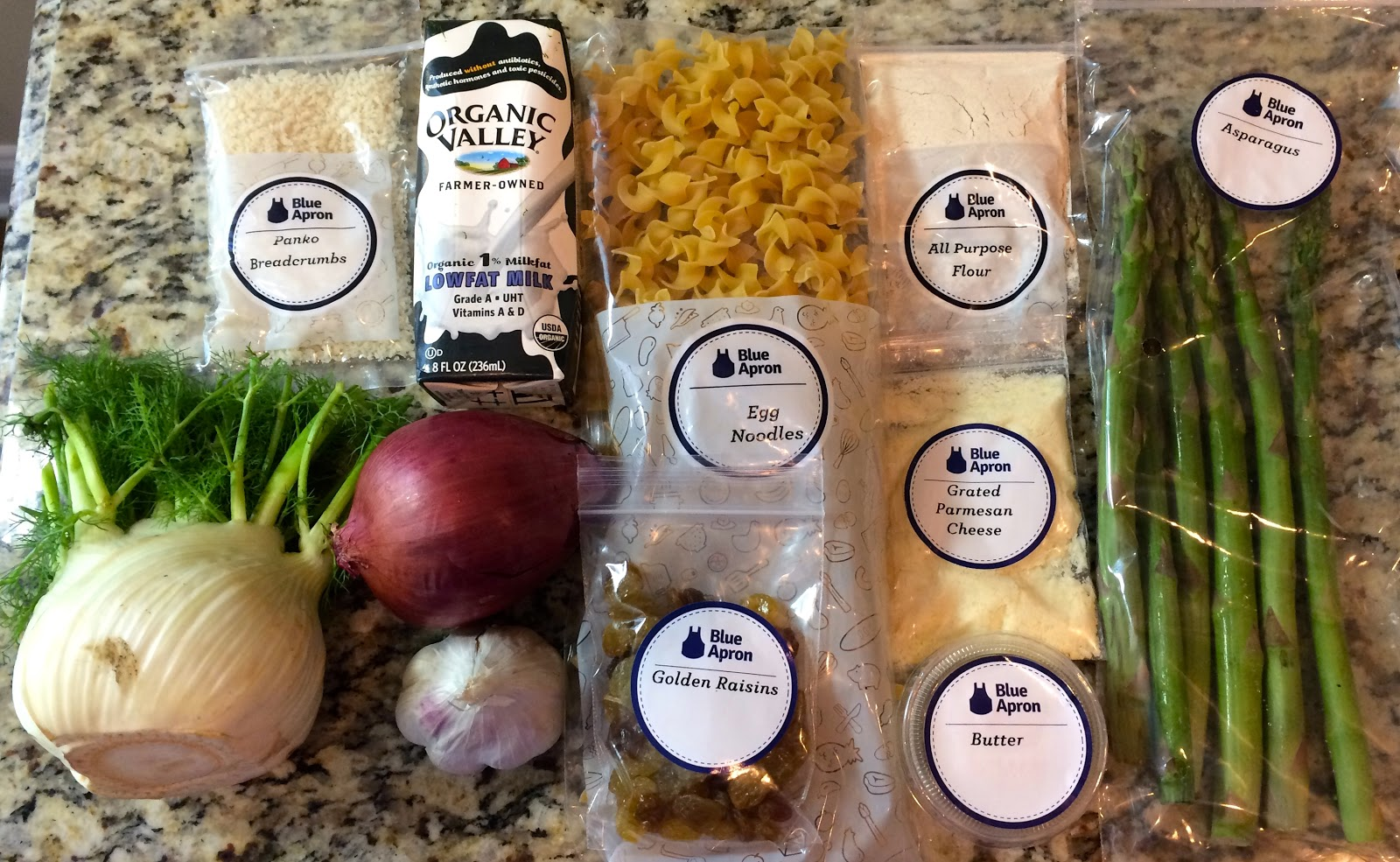 Blue apron qvc - Spring Casserole With Fennel Asparagus Golden Raisins
