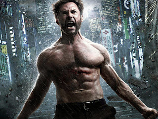 Hugh Jackman body in x-man movie angry images