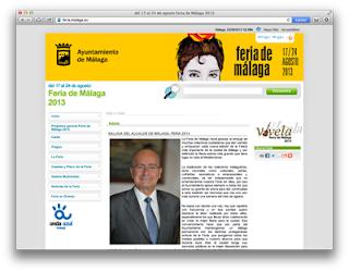 Web de la Feria 2013