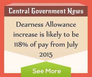 Dearness Allowance July 2015