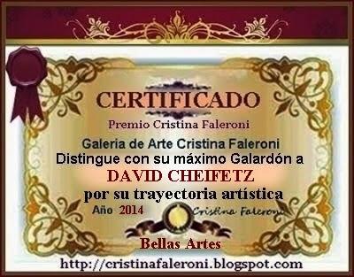 David Cheifetz Premio