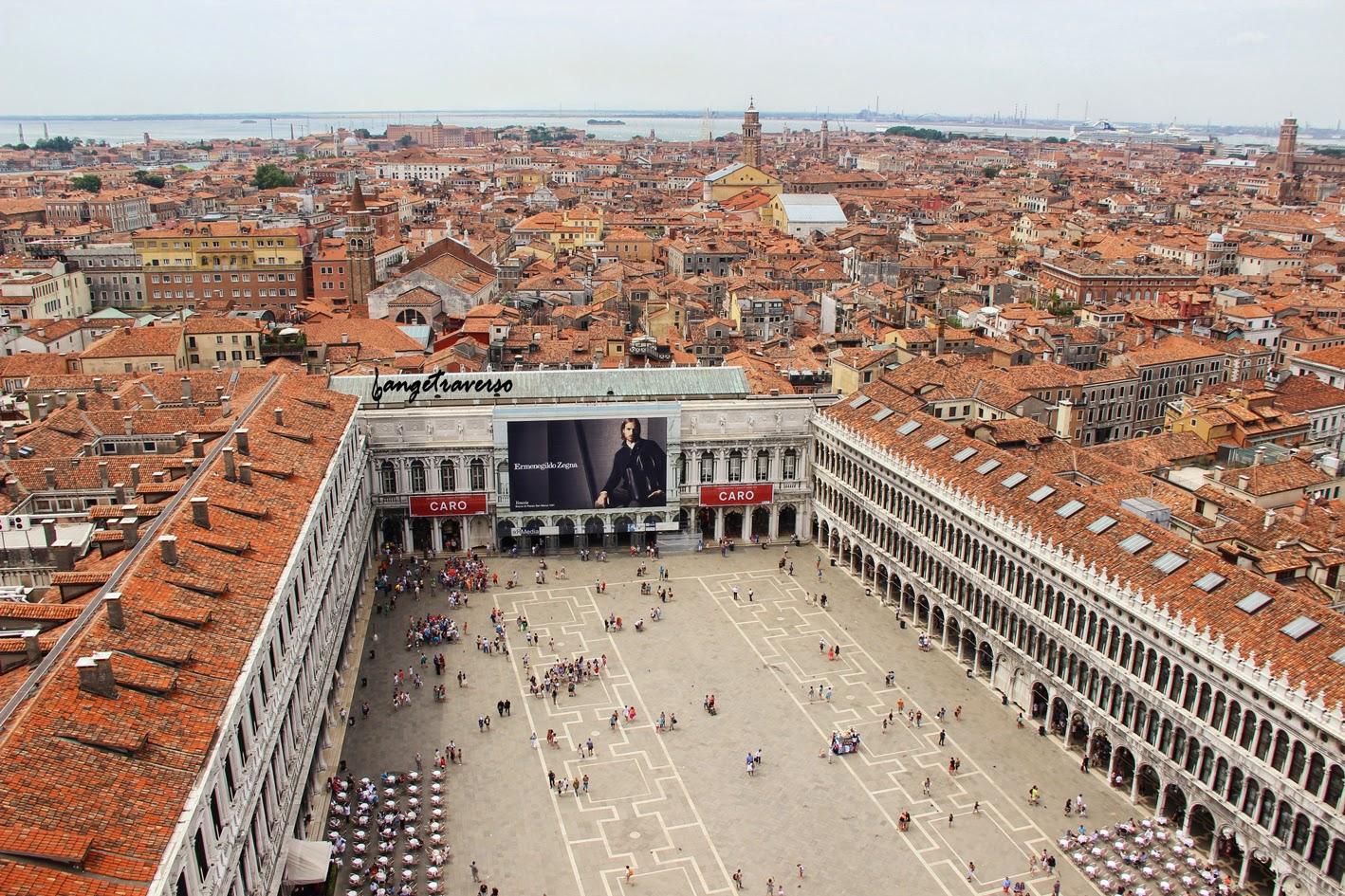Depuis le campanile, Venise