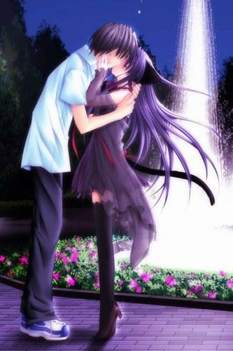 imagenes de amor anime. Un poco de amor anime