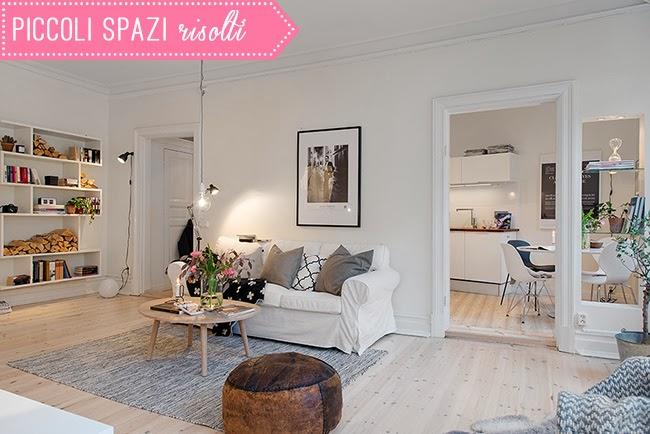 Piccoli spazi e idee per arredarli home shabby home for Arredare piccoli appartamenti