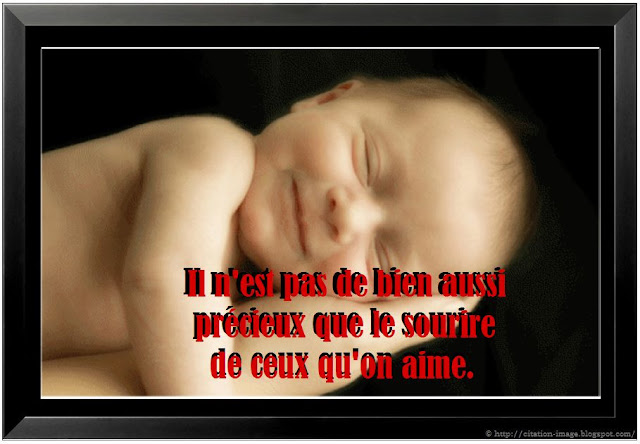 Citation sourire amour en image