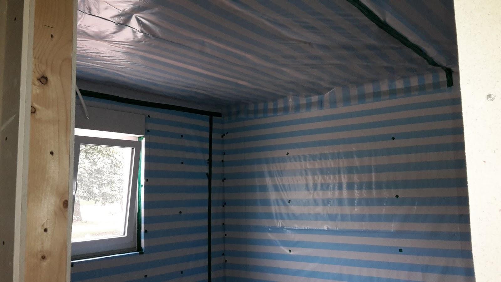 abenteuer - ausbauhaus : endlich wieder eine baustelle zu: dampfbremse