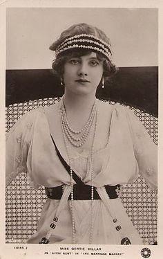 Gertie Millar in The Marriage Market, 1913