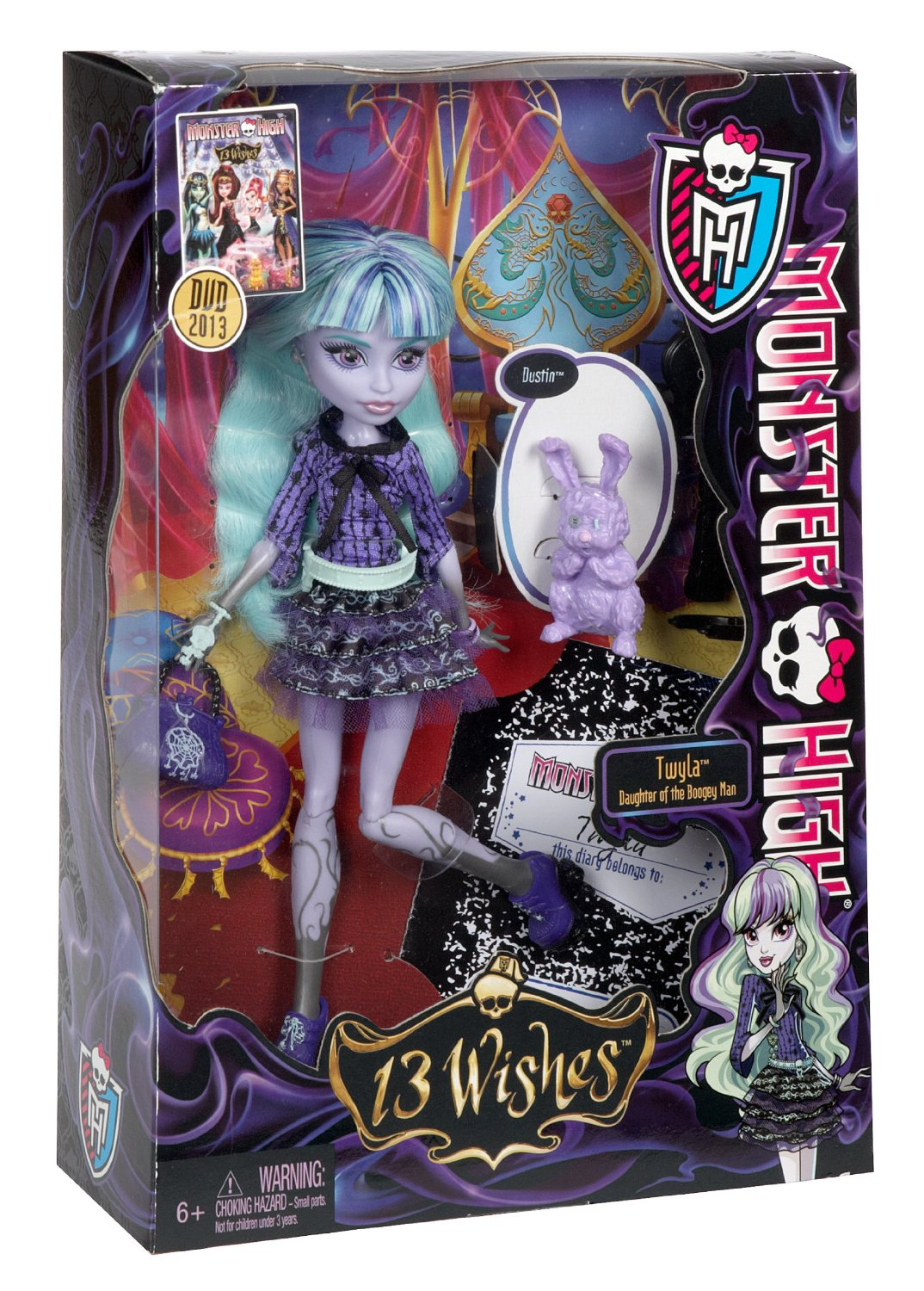 Monster High Toys : Libros y juguetes demagiaxfa toys twyla monster high