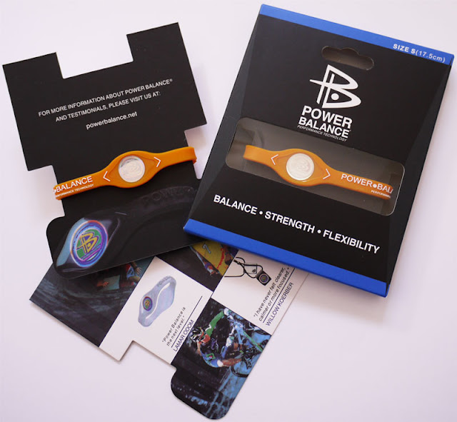 Power Balance Bracelet Orange