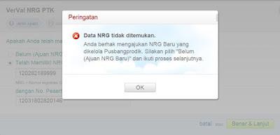NRG Tidak Ditemukan