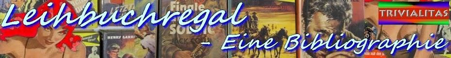 Leihbuchregal - Pseudonyme