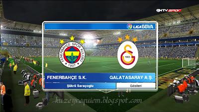 Pes 2013 Fenerbahçe Şükrü Saraçoğlu stadyum yaması