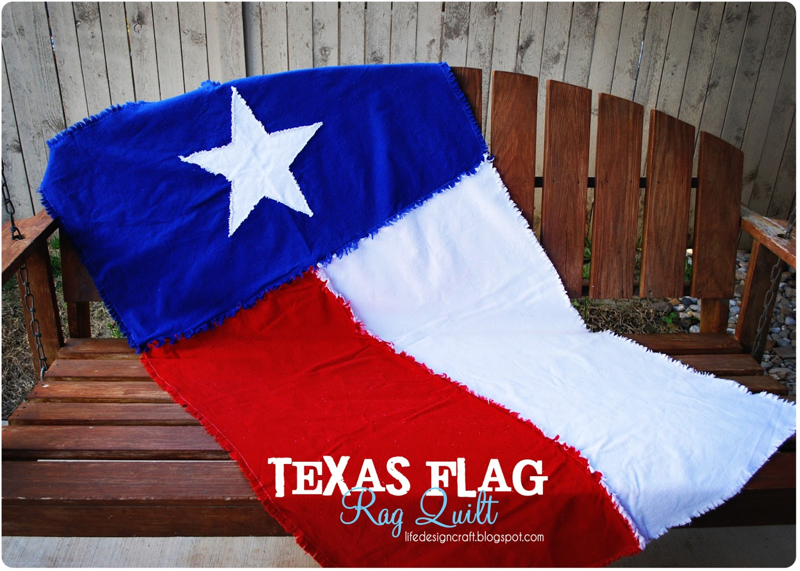 Life.Design. and the Pursuit of Craftiness: Texas Flag Onesie ... : texas flag quilt - Adamdwight.com