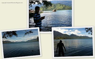Pemandangan sekitar Danau Air Tawar Takengon Aceh