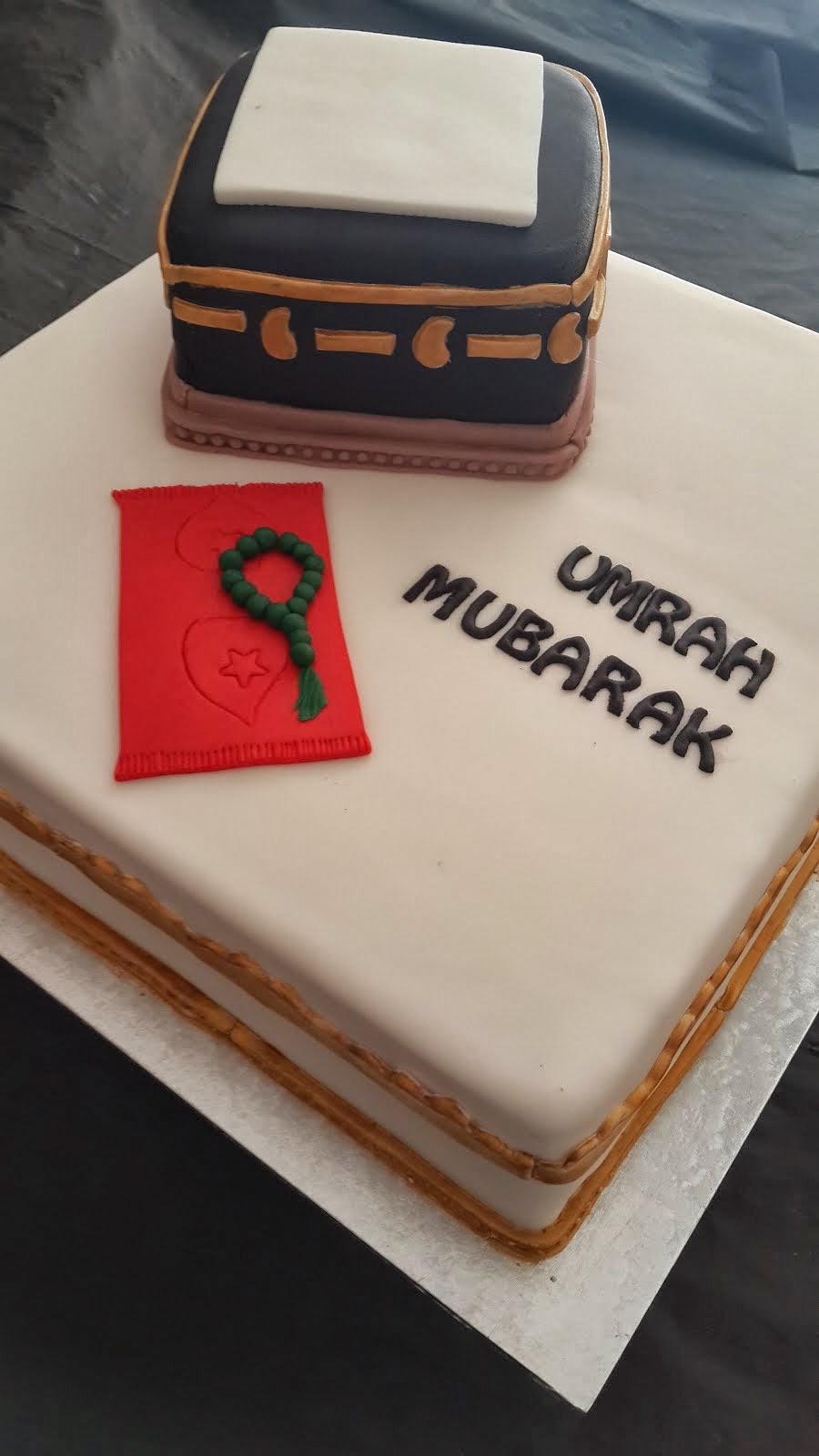 Umrah Mubarak Cake