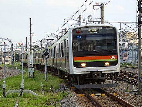 八高線 高麗川行き 209系3000番台