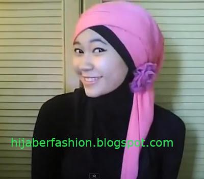 Tutorial Hijab Anak Sekolah
