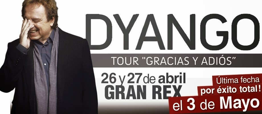 Dyango en el Gran Rex Bs. As. 2014